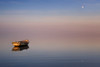 The boat and the moon (pajavi69) Tags: deltadelebro d7100 nikon dawn amanecer colors 1224 filtros filters hitech nature nubes clouds holder graduated seascape cloudy mar sea marina waterscape paisaje landscape tarragona spain españa airelibre cielo sunset