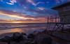 Tower 7 (teta.creative) Tags: oceanside coastal sunset lifeguardtower beach clouds
