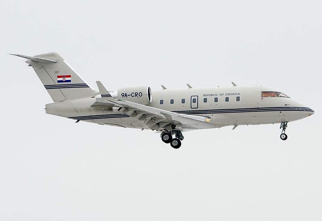 9A-CRO Republic of Croatia Canadair Challenger 604 (CL-600-2B16)