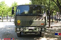 BDQJ09-4028 RENAULT G290 VTL (milinme.myjpo) Tags: frencharmy renault g290 vtl véhicule de transport logistique remorque rm19 trailer bastilleday