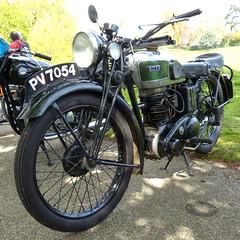BSA C11 1945 P1180978mods (Andrew Wright2009) Tags: ipswich felixstowe run suffolk england uk cars automobiles classic historic heritage vehicle bike motorbike motorcycle bsa c11 1945