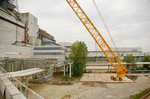 Ventilation Stack Removal - Chernobyl