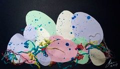 Week 8 Pastel (Therin of Andor) Tags: eggs pastelcolours eastereggs nests collages