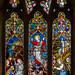 Stained glass window, St Mildred's church, Tenterden