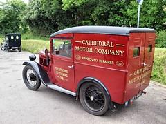 Vintage Auston Van 125 (saxonfenken) Tags: red vintage antique letters writting austinvan 1029 bigmomma challengewinner gamesweep gamex2 pregamewinner tradevan 1029corn