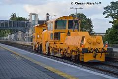 703 passes Portlaoise, 6/6/15 (hurricanemk1c) Tags: irish train rail railway trains railways irishrail pwd portlaoise 703 2015 iarnrd ireann iarnrdireann ballastregulator plasserandtheurer usp4000