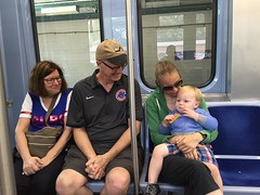 """Paul Rides the El with Grandma and Grandpa Miller • <a style=""""font-size:0.8em;"""" href=""""http://www.flickr.com/photos/109120354@N07/18831018934/"""" target=""""_blank"""">View on Flickr</a>"""