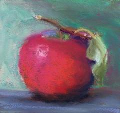 MacIntosh (Jennymac067) Tags: red art apple painting macintosh pastel jennifer malone jennymac