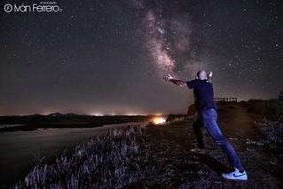 Abrazando la vía Láctea