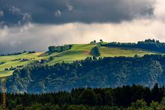 Aussicht (Edi Bähler) Tags: aussichtpub himmel hotpick kantonbern landschaft schweiz switzerland wald wolken worb clouds evezuhause landscape sky nikond810 400mmf28