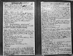 17 - Centre Pompidou-Metz Leiris & Co. Manuscrits de l'Afrique fantme, 1932 (melina1965) Tags: blackandwhite bw nikon noiretblanc july lorraine juillet metz moselle 2015 d80