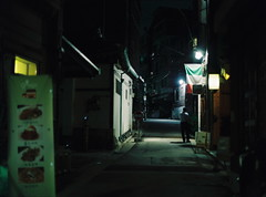 Italia (june1777) Tags: snap street seoul alley seochon night light mamiya 645 mamiya645 c 80mm f19 kodak portra 800 pro tl sekor