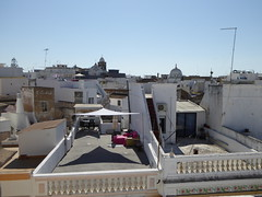 Rooftops (cyclingshepherd) Tags: roof rooftop portugal church architecture rooftops churches july aerial frieze roofs algarve canopy cubo aerials balustrade azulejos olhao canopies olho balustrades cubos 2015 cyclingshepherd
