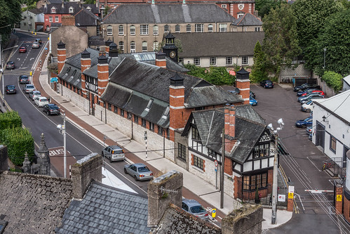 VIEWS OF THE CITY FROM THE WALLS OF ELIZABETH FORT [CORK] REF-106669