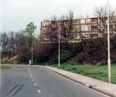 Renkum Beukenlaan flat Bergerhof Collectie HGR (Historisch Genootschap Redichem) Tags: ca foto flat 1984 collectie renkum hgr beukenlaan bergerhof