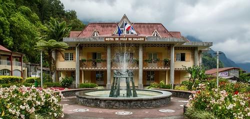 Hotel de Ville de Salazie, Réunion Island