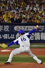 #16 加賀繁 / 横浜DeNAベイスターズ (bxsekkiexb) Tags: baystars baseball hanshin 横浜denaベイスターズ 阪神タイガース 加賀繁