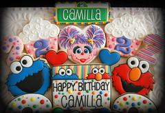Camilla Sesame Street (10)-2 (christine-sugarcravings) Tags: sugarcravings decoratedcookies customcookies sesamestreet elmo abbycadabby cookiemonster birthdaycookies