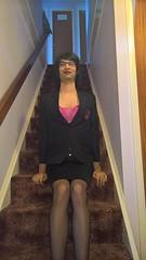 WP_20170116_12_09_43_Rich (Katie Savira) Tags: satinskirt sissy crossdresser secretary