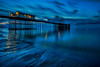 turbulent (Explored) (shutterbug_uk2012) Tags: penarth pier uk united kingdom blue hour sunrise wales clouds long exposure beach reflections lights movement water sea ocean wet sand seascape nikon d810