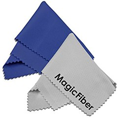 (2 Pack) MagicFiber Microfiber Cleaning Cloths - For Tablets, Lenses, and Other Delicate Surfaces (1 Blue, 1 Grey) (goodies2get2) Tags: amazoncom bestsellers giftideas mostwishedfor toprated