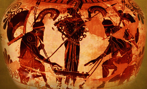 "Petteia - Ludus Latrunculorum  / Iconografía de las civilizaciones helenolatinas • <a style=""font-size:0.8em;"" href=""http://www.flickr.com/photos/30735181@N00/31710163623/"" target=""_blank"">View on Flickr</a>"