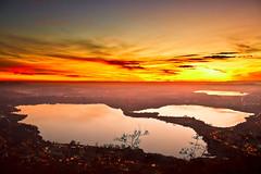 Annone e Pusiano lake (Marco Allegro) Tags: lombardia tramonto