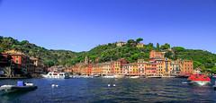 Portofino ,Italy (By Hayan) Tags: portofino italy harbour seaside travel canon7d