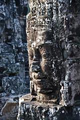 Khmer Smile, Bayon (B.YAO Travel Photos) Tags: cambodia siemreap bayon khmersmile angkorthom