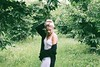 (Positively lifted.) Tags: field nature trees grass green slip dress hipster hip urban outfitters model urbanoutfitters bun blonde