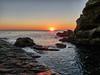 Tramonto sugli scogli livornesi (Luna y Valencia) Tags: tramonto livorno sunset puntapacchiano calafuria puestadelsol