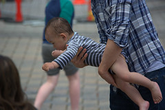 Learning To Fly (swong95765) Tags: kid father parent dad fly learning held tutored son teaching playing interacting