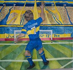 Palermo (Sven Vietmeier) Tags: argentine argentinien ba bild bocajuniors bombonera buenosaires cabj estadioalbertojarmando guillermopalermo kunst laboca art tableau