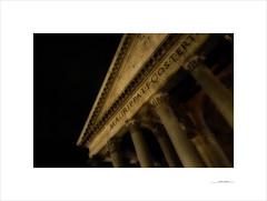 Cuaderno de Roma (E. Pardo) Tags: roma rome ciudades cities städte arquitectura líneas linien lines perspectiv perspectiva italia italy italien structures estructuras strukturen licht light luz panteon agripa europa europe