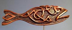 Viking Fish (darksaga66) Tags: woodcarving sculpture art myart viking fish