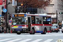 東急バス(Tokyu Bus) T603 - 品川200か24-21 (kenli54) Tags: tokyo tokyu 品川200か2421 nissan diesel ud 日産ディーゼル 東急バス t603 bus singledeck pbrm360gan pb