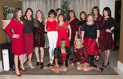 Lovely Ladies In Red! (kaceycd) Tags: crossdress tg tgirl lycra spandex wetlook minidress lace seethrough seethru jacket pantyhose pumps peeptoepumps opentoepumps highheels stilettopumps platformpumps stilettoheels sexypumps stilettos s
