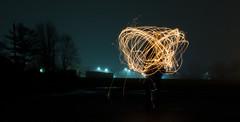 Sparkles 2 (bboneyardd) Tags: longexposure long exposure nikond5200 nikon 5200 sparkler sparks fog night lights time girlfriend