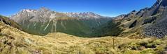 Travers Saddle (NettyA) Tags: newzealand traverssaddle appleiphone6 nz nelsonlakesnationalpark tasmannz panorama traverssabinecircuit tramping mountains pano