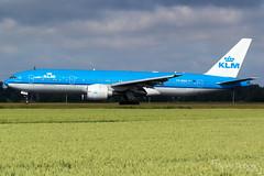 KLM Royal Dutch Airlines Boeing 777-206(ER)     PH-BQA     Amsterdam Schiphol - EHAM (Melvin Debono) Tags: klm royal dutch airlines boeing 777206er   phbqa amsterdam schiphol eham melvin debono spotting canon 7d 600d plane planes polderbaan airport airplane aviation aircraft netherlands holland