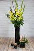 IMG_8278-2 (Garden Party Flowers) Tags: cymbidiumorchids eucalyptus florist flowers gladiolas hyacinth plumblossoms spring vancouver yellowandwhite