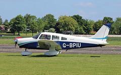 G-BPIU PA-28-161 Warrior II (PlanecrazyUK) Tags: fly in sturgate 070615 egcv gbpiu pa28161warriorii