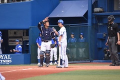 DSC_0731 (Yu_take) Tags: ヤクルトスワローズ 西田明央 横浜denaベイスターズ 三嶋一輝