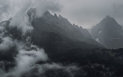 Among the Clouds (Gikon) Tags: mountains alps clouds high nikon alpine 1855mm peaks gikon d3100