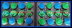 Teenage Mutant Ninja Turtle Cupcakes by Laura, Triad Area, NC, www.birthdaycakes4free.com