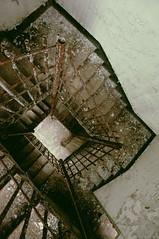 (emmakatka) Tags: abandoned stairs midwest decay staircase westvirginia asylum derelict abandonment weston infirmary transalleghenylunaticasylum transallegheny emmakatka womansinfirmary