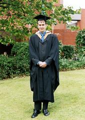 Photo of Degree Graduation, July 2002