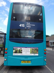 Selby (Andrew Stopford) Tags: wright gemini arriva selby vdl 2dl db300 yj59bty ay04max