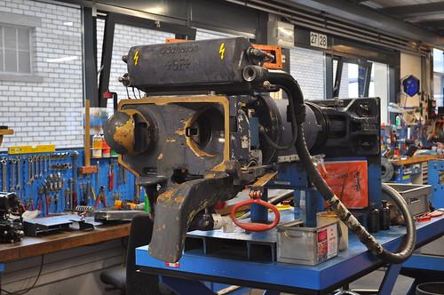Automatische Kupplung der SBB Re 450