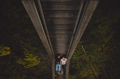 Kristine & Chris // Rock Glen Engagement // Arkona, Ontario